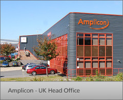 Photograph of the Amplicon UK Head Office - we are their distribution partner.