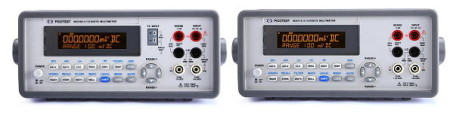 Digital Multimeter with USB port, GPIB interface and LabVIEW support