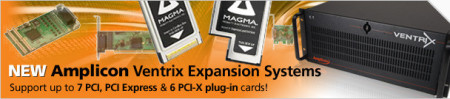 PCI & PCIe Expansion Boxes with Magma Technology inside