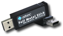 Full Metal Jacket USB Memory Sticks for Industry and Military