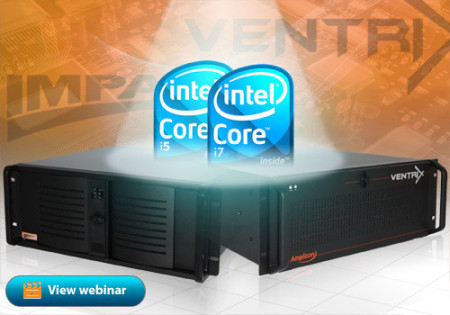 Amplicon Industrial PC with Intel Core i5/i7 Processor