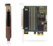 PCIe215 - 48 lines digital I/O card - PCI-Express
