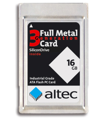 PCMCIA - Flash Memory Cards - Full Metal Jacket