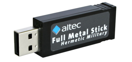 USB Memory Stick with Full Metal Jacket for harsh industry and military applications
