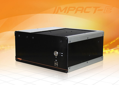 Impact-E300 - embedded fanless PC with Intel iCore processor